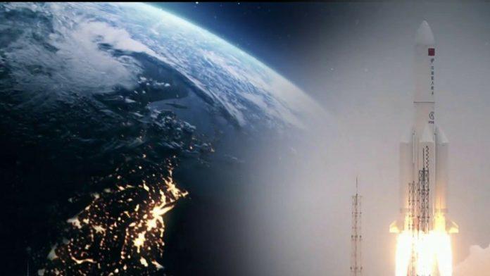 China rocket crashes in Indian Ocean