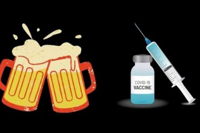 beer free for covid vaccine