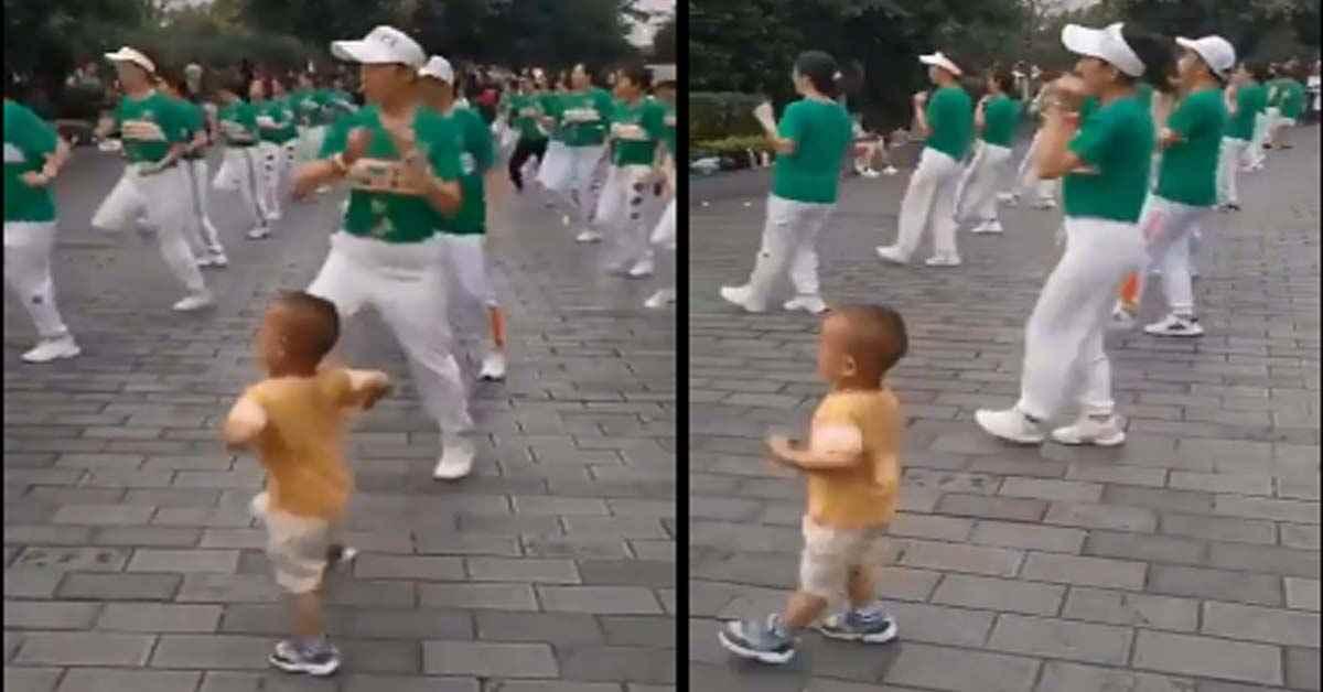 Little boy dance viral video