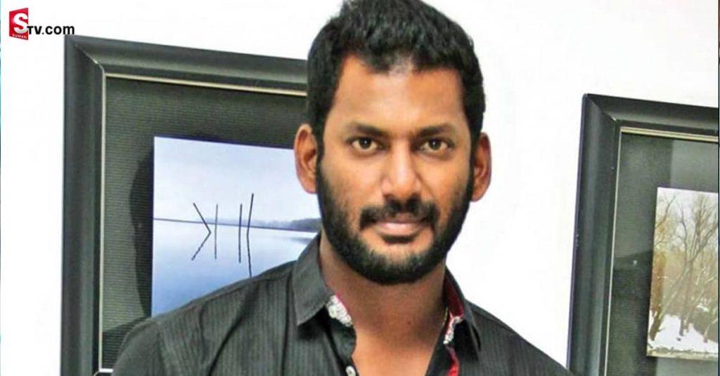 Hero Vishal Injured 01 min