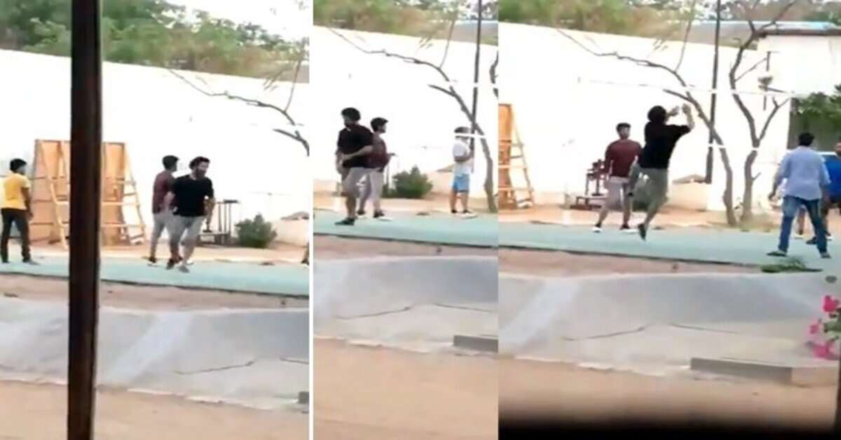 NTR Playing Volleyball 1