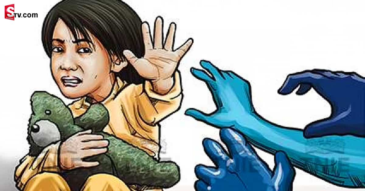 Man Has Raped six-year-old girl in Khammam district - Suman TV