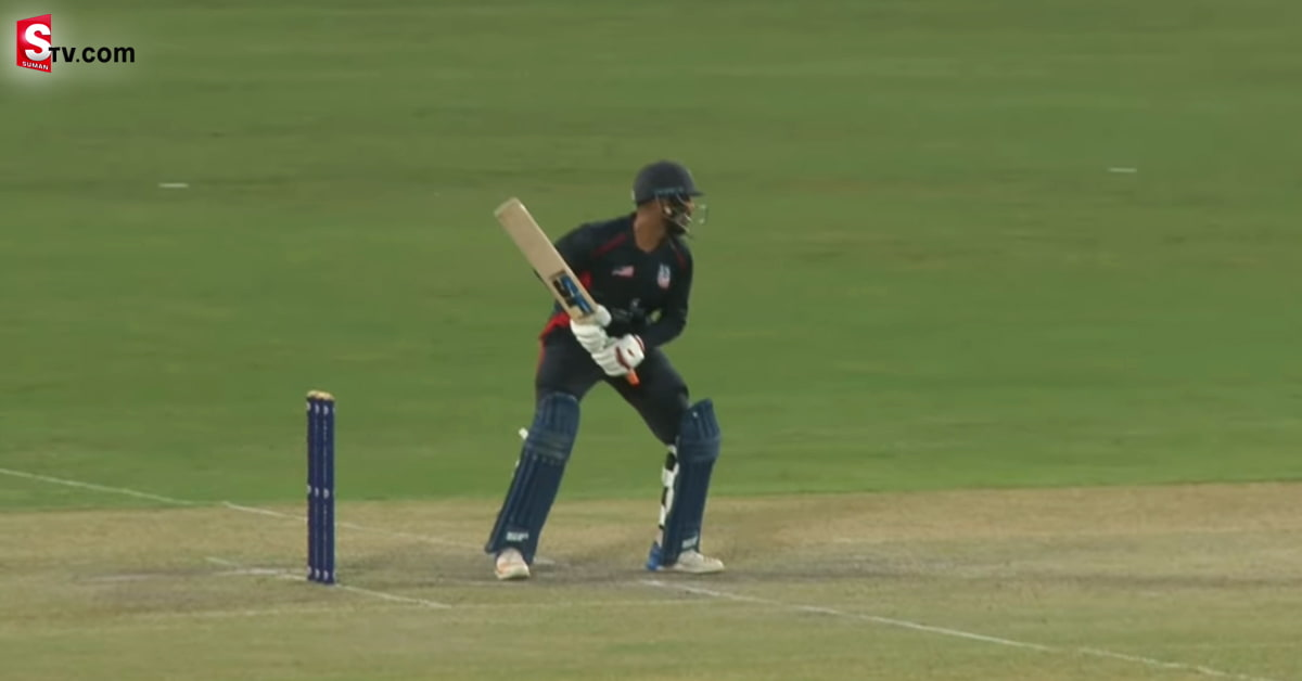 A indian Cricketer Record Hitting in America - Suman TV