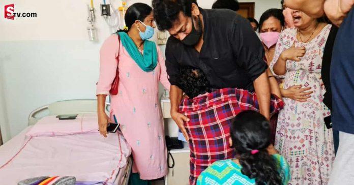Chiranjeevi Emotional at Uttej Wife Died - Suman TV