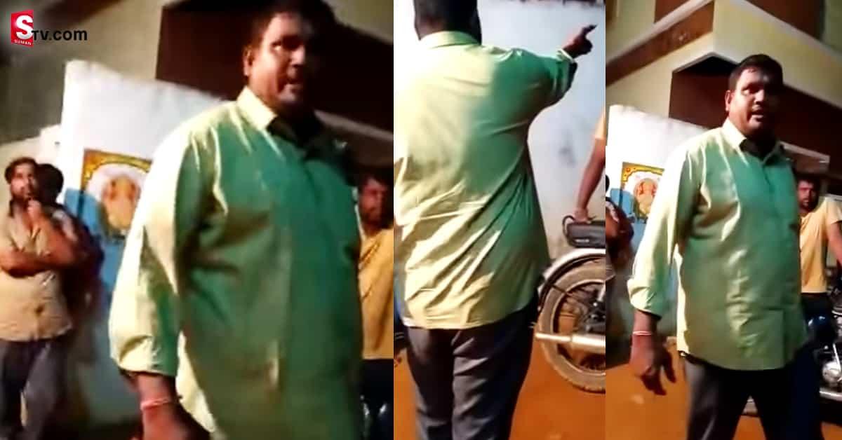 Drunk Constable Fighting - Suman TV