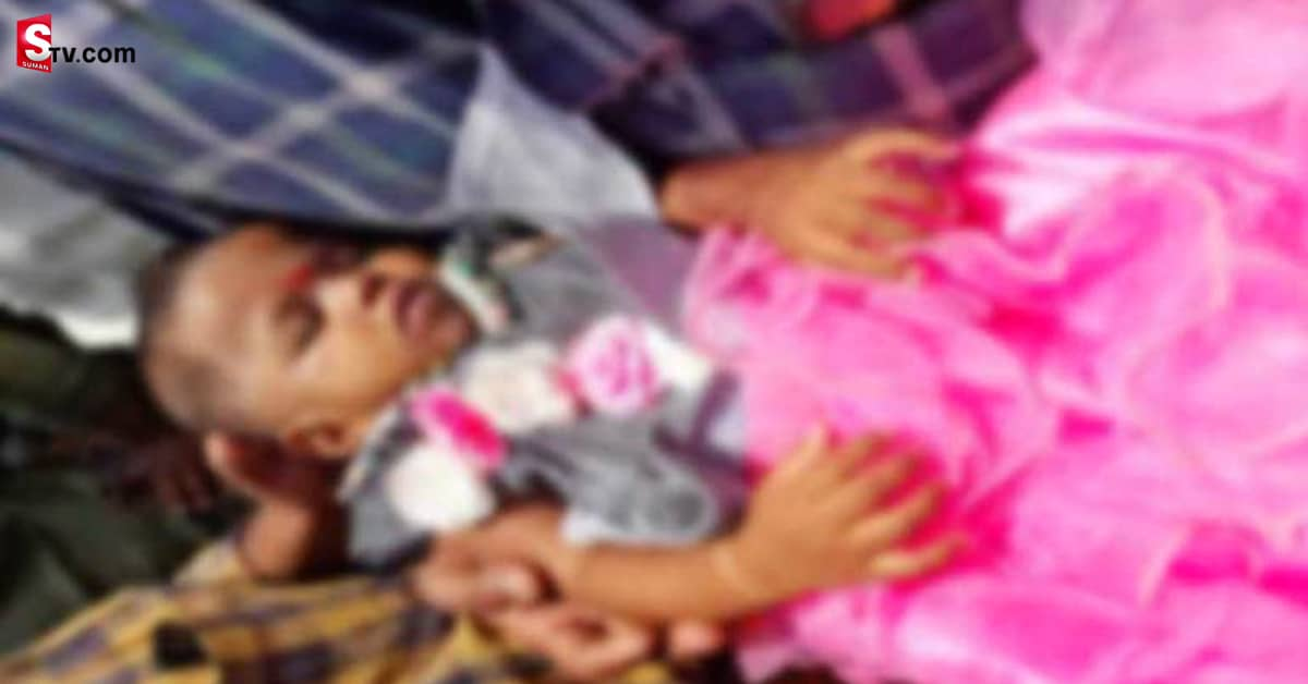 Girl Dies After Being Hit By TV in Krishna District - Suman TV