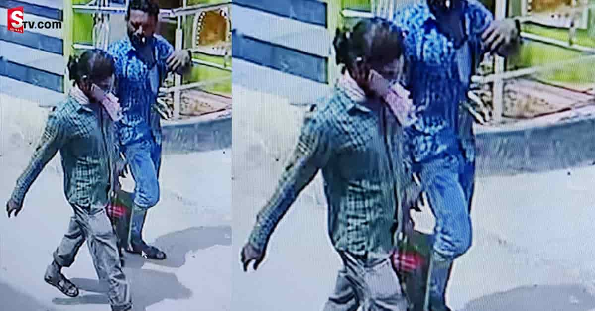 If the accused is caught a reward of Rs 10 lakh - Suman TV