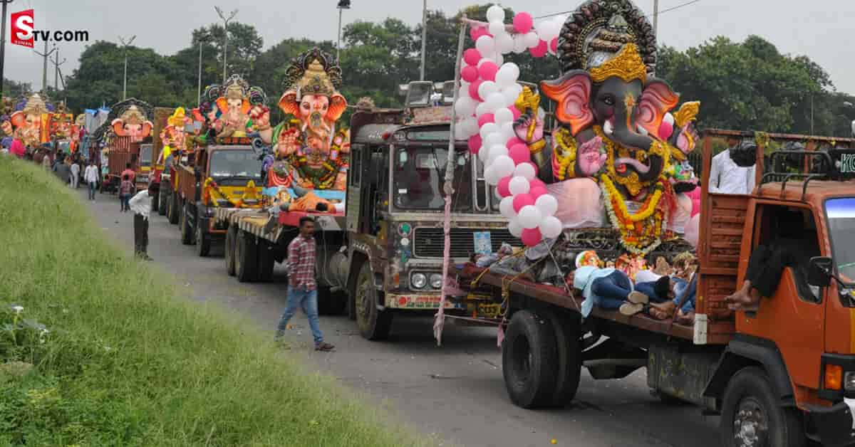Jagan about AP Ganesh Festival - Suman TV