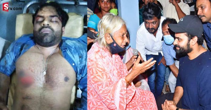 Sai Dharam Tej to recover Hundreds of old people are fasting - Suman TV