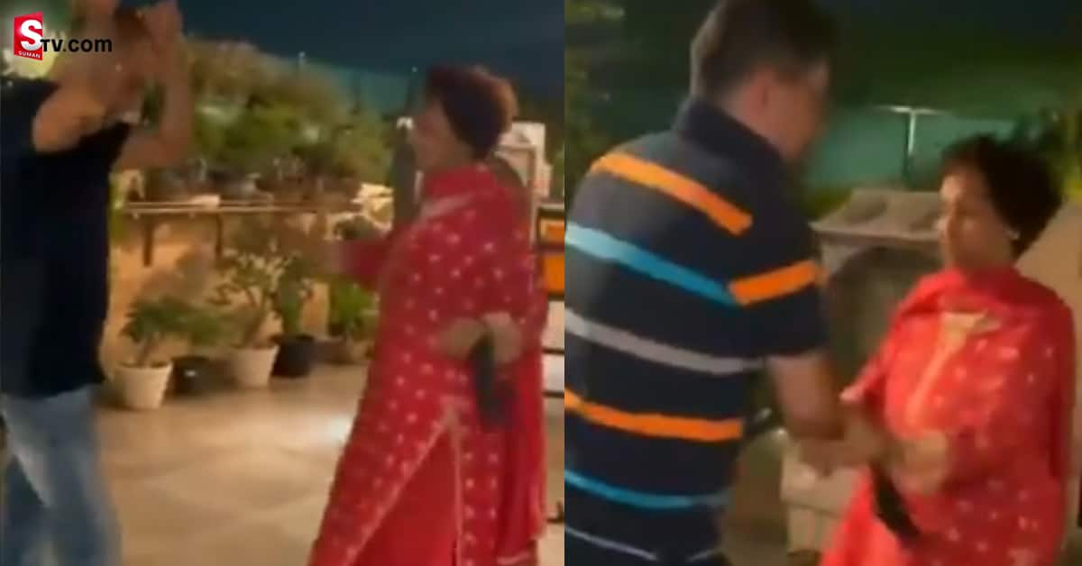 Sharukhan Mother in Law Dance Video Viral - Suman TV