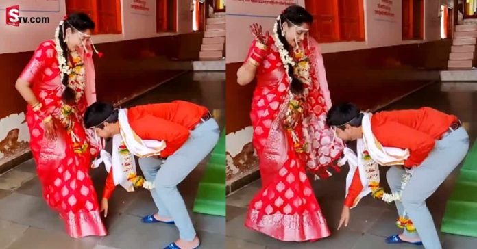 The husband who planted the wife's legs in the wedding - Suman TV