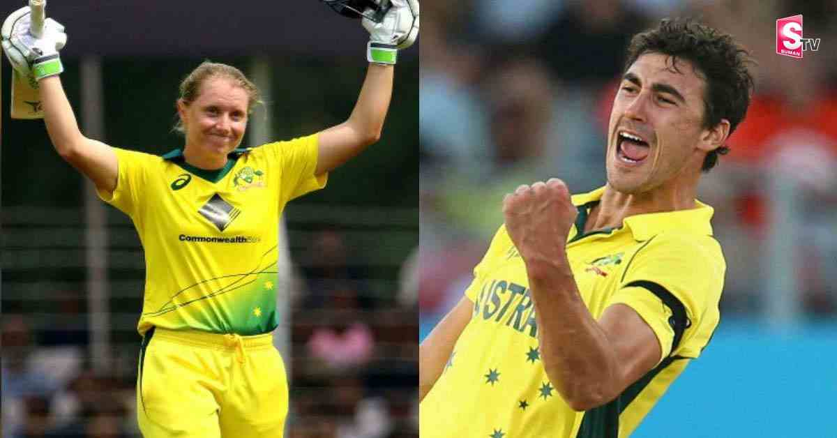 Australian star bowler's wife praises Rohit Sharma - Suman TV