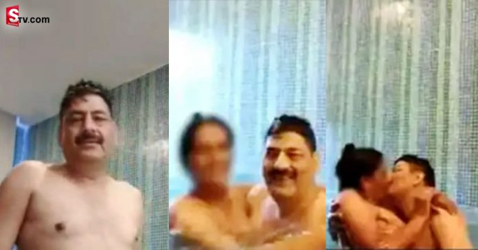 DSP and constable swimming pool video Viral - Suman TV