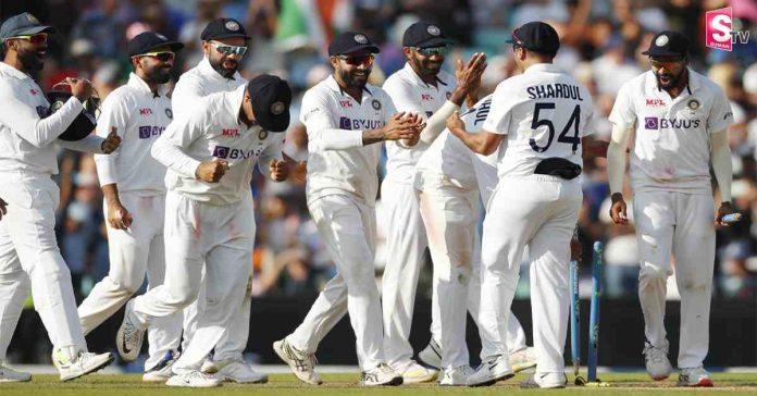 team india celebrations